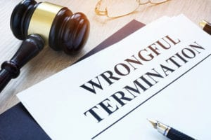 Paperwork for our wrongful termination lawyer in Los Angeles, CA